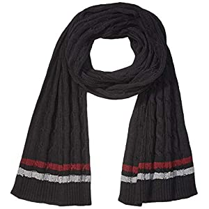 Amazon Brand – Goodthreads Men's Soft Cotton Cable Knit Scarf