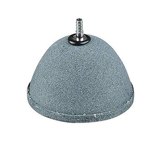BGGGT Acuario Bomba del Estanque hidroponía Difusor de cerámica del Acuario Burbuja de Aire Piedra aireador sinterizado Aire Piedra (Color : Diameter 80cm)