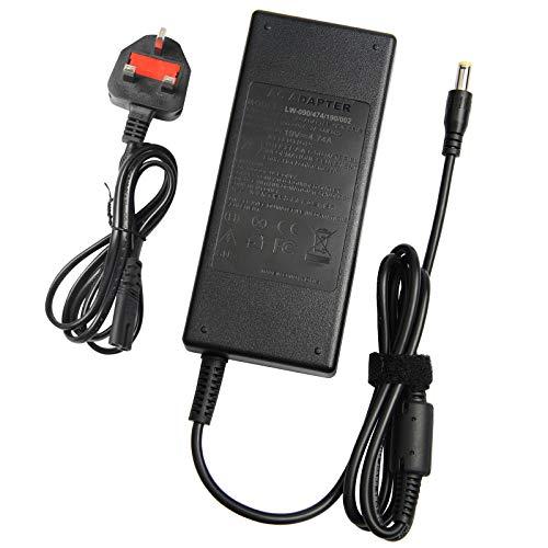 AUNCELL 90W AC-Adapter für Toshiba Satellite C55D C50 C75D C655 C675 C850 C855 L305D L455 L505 L505D L635 L645 L655 L655D L745 L755 L775 L855 L875 A105 A135 Netzkabel.