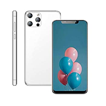 Unlocked Cell Phone,X40 Android Smartphone 6.11-inch HD+U Nouth Screen 3GWCDMA   850/2100MHZ SIM Card Frequency Band,1GB RAM 16GB ROM 3800mAh,Front Rear Camera  White