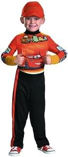Disney Cars 2 Lightning Mcqueen Pit Crew Classic Boys Costume, Medium/7-8