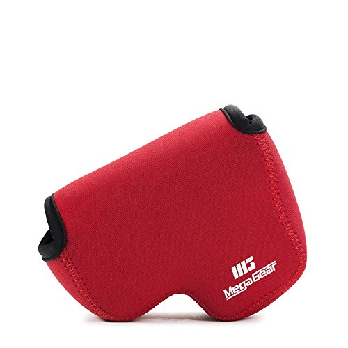 MegaGear, MG728, Estuche de Cámara Ultra Ligero, de Neopreno para Nikon Coolpix B500, color Rojo