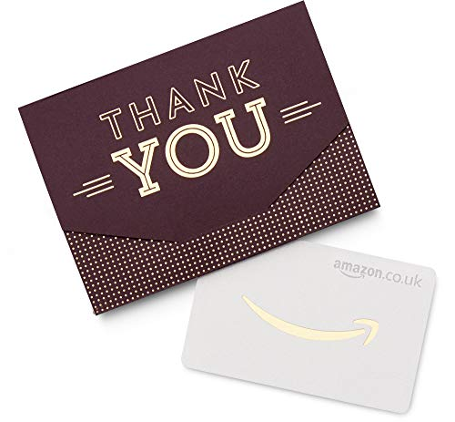 Amazon.co.uk Gift Card in a Thank You Mini Envelope