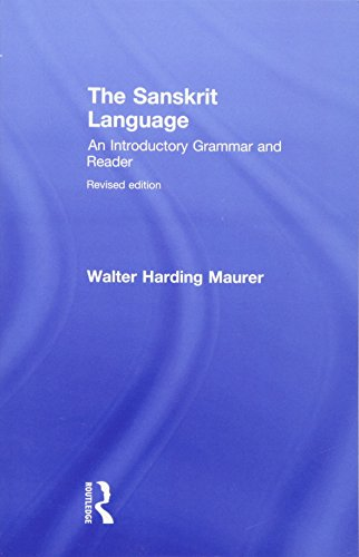Compare Textbook Prices for The Sanskrit Language: An Introductory Grammar and Reader  Revised Edition v. 1 & 2 1 Edition ISBN 9780415491433 by Maurer, Walter,Fields, Gregory P.