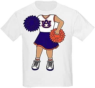 Future Tailgater Auburn Tigers Heads Up! Cheerleader Baby/Toddler T-Shirt