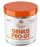 Genius Probiotics for Weight Loss w/ Green Tea Extract for Women & Men – Shelf Stable Probiotic...