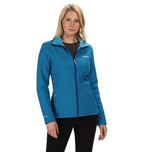 Regatta Connie III Damen Softshell-Jacke, wasserabweisend, windabweisend M Petrol Blue(Atlantis)