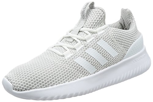 adidas Men's Cloudfoam Ultimate Fitness Shoes, White (Ftwbla/Ftwbla/Gridos), 9.5 UK (44 EU)