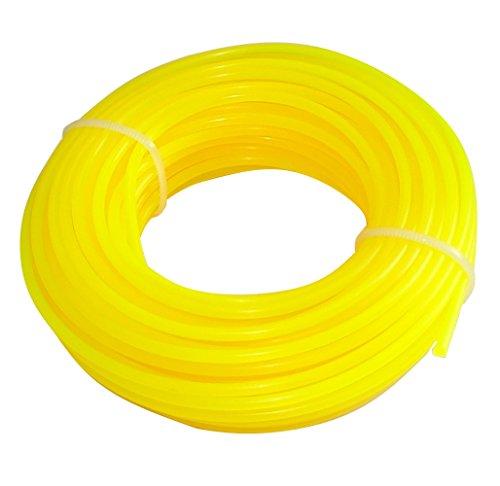 Aerzetix: Fil Nylon Profil Rond 2.4mm 15m pour débroussailleuse désherbeuse C18549