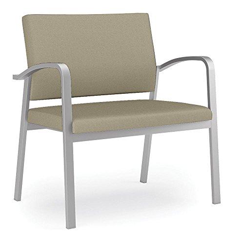 Lesro Newport Solid Fabric 750 lb. Capacity Bariatric Guest Chair Dimensions: 33