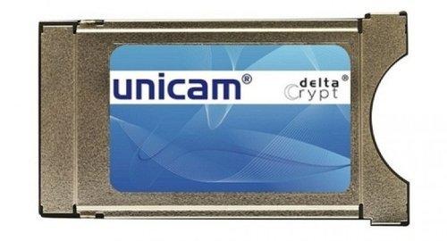 Unicam CI Modul mit DeltaCrypt-Verschlüsselung