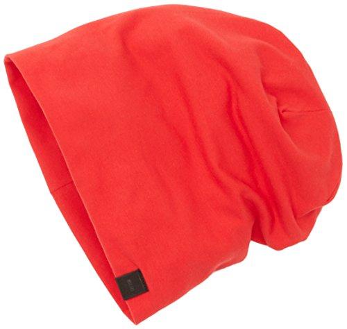 MSTRDS Unisex Erwachsene Jersey Beanie Strickmütze, Rot (red 1152,5028), One Size (Youth)