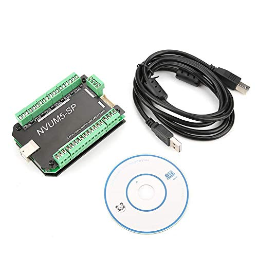 MACH3 Motion Control Karte,NVUM5-SP USB MACH3 Schnittstellenkarte 5 Achsen Steuerung CNC 100 KHz für Schrittmotor,MACH3 Bewegungssteuerungsplatine