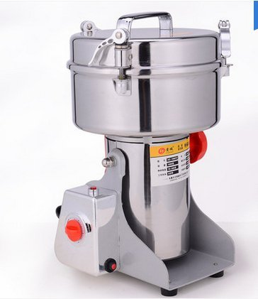 Swing Type Large-scale 2000g 2Kg Stainless Steel Grains Food Mill Major Grinding Machine Grinder Food Pulverizer 110V for USA user, 220v for others