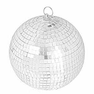 """8"""" Mirror Disco Ball Great for a Party or Dj Light Effect"""