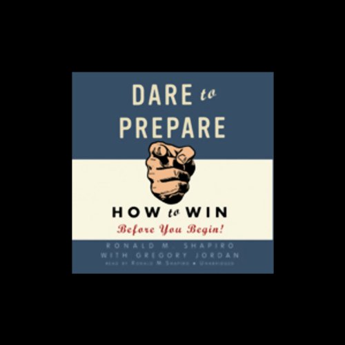 Dare to Prepare audiobook cover art