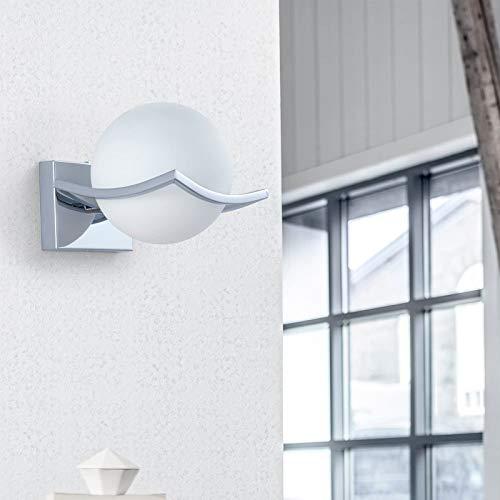 DAXGD Applique da Parete Interno, Moderno E27 LED Lampada da Parete per camera da letto, soggiorno, LED Applique Diametro: 15CM, IP20