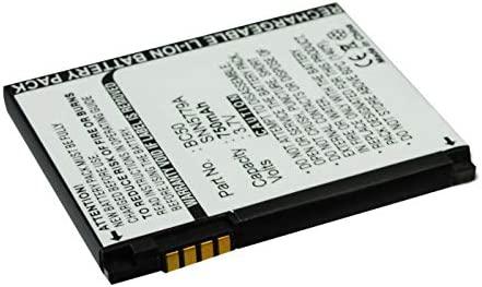 Synergy Digital Cell Phone Battery, Works with Motorola KRZR K1 Cell Phone, (Li-ion, 3.7, 750mAh) Ultra High Capacity, Compatible with Motorola 77865, BC50, CFNN1043, SNN5779 Battery