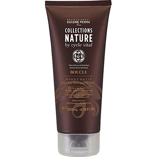 Eugène Perma Professional Shampoo voor krullen, Collections Nature by Cycle Vital Verzorgingsmasker krullen.