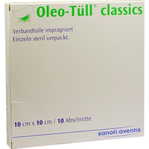 OLEO TUELL CLASSIC 10X10CM 10St Wundgaze PZN:7051348