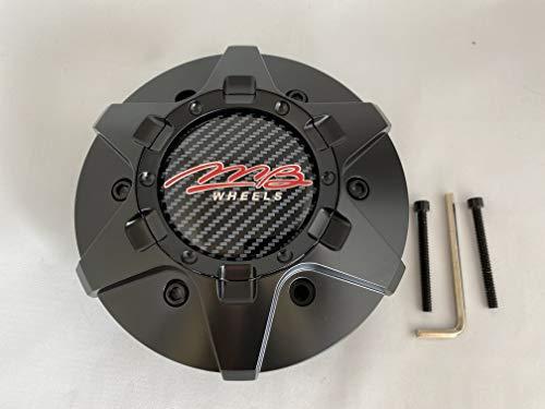 MB Wheels C-358-4 80478 Matte Black Center Cap Fits 6x139.7 6x135