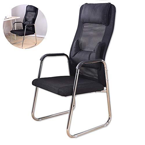 Silla de conferencia sillas de salon de entrenamiento ergonomia computacional moderna silla de comedor, mesa de oficina creativa sala de reuniones respaldo, oficina, dormitorio, sala de lectura latera