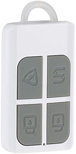 VisorTech Zubehör zu Sirene mit Fernbedienung: Funk-Fernbedienung mit SOS-Taste für Alarmanlagen der Serie XMD (Alarmanlage Telefon)