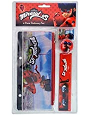 Miraculous Ladybug 4pc Stationery Set in Bag w/Header (TY15115836)