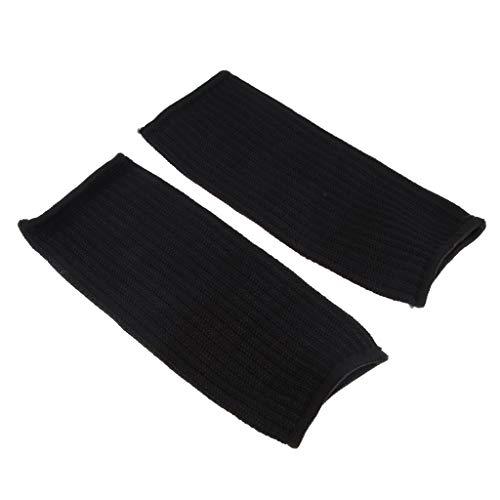 Ropa de Protección de Brazo Guantes de Trabajo Accesorio de Motosierra Decorativos Casa - Negro, 20 x 10 cm