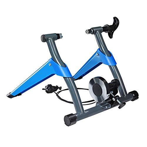 WZ Soporte Magnético para Entrenador Bicicletas Plegable Soporte Ejercicio para Montar en Bicicleta Interior 8 Configuraciones Resistencia Carga Máxima 297 LB