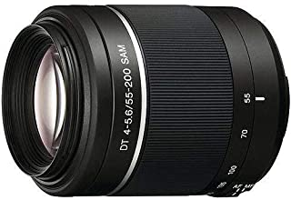 Sony SAL55200 55-200mm f/4-5.6 DT ED Compact Telephoto Zoom Lens (Certified Refurbished)
