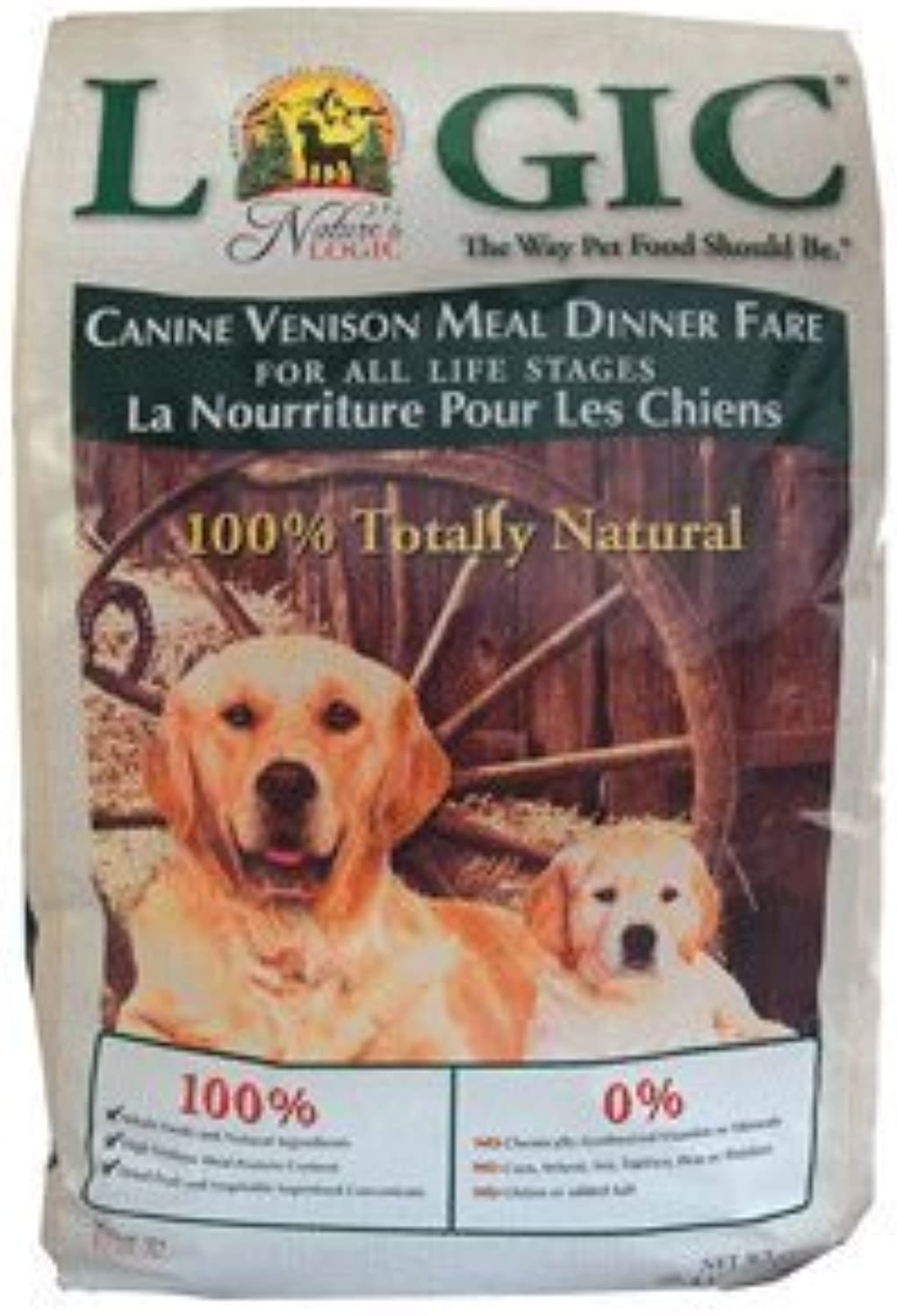 NATURE'S LOGIC 581214 Dry Vensn for Dog, 15.4Pound by Phillips Feed & Pet Supply