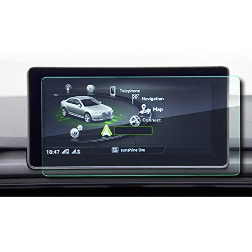 YEE PIN A4 B9 MMI Navigation Schutzfolie GPS Displayschutzfolie Navi Folie Gehärtetes Glas Schutz Auto Zubehör 8.3 Zoll
