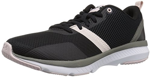 Under Armour Women's Press 2 Sneaker, Black (001)/French Gray, 7.5