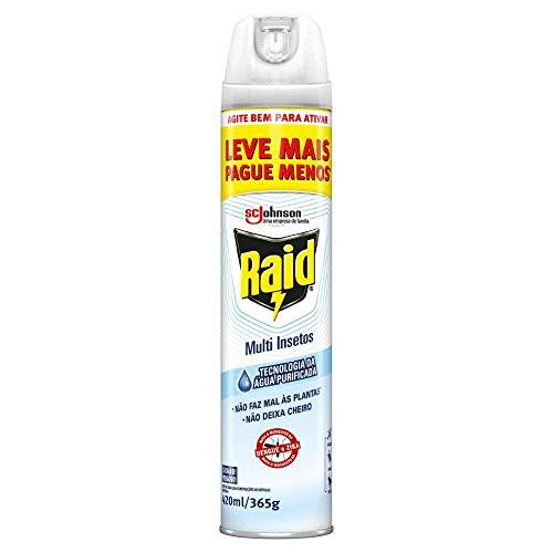 Inseticida Raid Multi-insetos Spray Aqua Protection Leve Mais Pague Menos 420ml, Raid