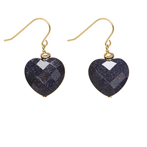 Lola Rose Kimi Earrings Blue Sandstone