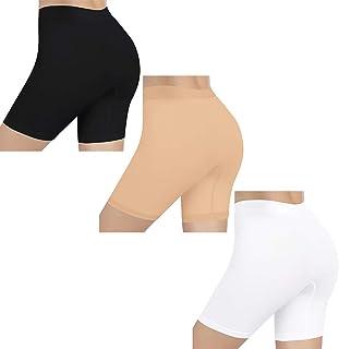 Bragas sin Costuras para Mujeres, Panties Antideslizantes Lisas Debajo de los Vestidos