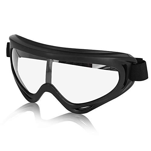 Anteojos de seguridad antivaho a prueba de viento gafas transparentes protectoras para el lugar de trabajo para la construcción, laboratorio, uso personal profesional