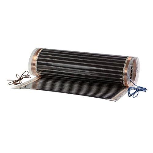 matec fgp-2410de 80/0, 5x 2, 0m suelo radiante eléctrico (calefactor por infrarrojos pantalla, 80W, 230V