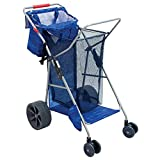 Best Beach Chairs With Wheels - RIO Brands Deluxe Wonder Wheeler Portable Folding Outdoor Review