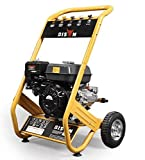 X-BULL Gasoline Petrol Pressure Washer 3950PSI / 272BAR 6.5HP 9LPM 3400RPM EURO V