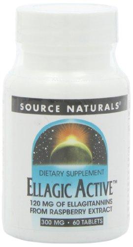 Source Naturals Ellagic Active 300mg, 60 Tablets