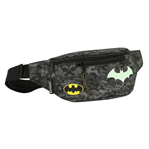Batman Hüfttasche, Kindertasche, Taillentasche für Jungen, Kindertasche, Fluoreszierendes Im Dunkeln Leuchten, Gürteltasche für Kinder, Geschenk für Jungen!
