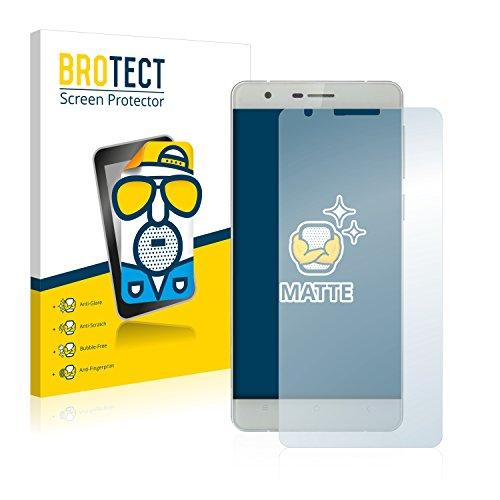 BROTECT 2X Entspiegelungs-Schutzfolie kompatibel mit Oukitel K4000 Bildschirmschutz-Folie Matt, Anti-Reflex, Anti-Fingerprint