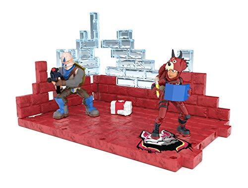 Fortnite 63511 Battle Royale Collection Mega Fort y 2 figuras exclusivas de Tricera Ops y Blue Squire, multicolor… 5