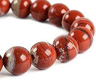 Top Quality Natural Red River Jasper Gemstone 8mm Round Loose Gems Stone Beads 15 Inch for Jewelry Craft Making GF15-8