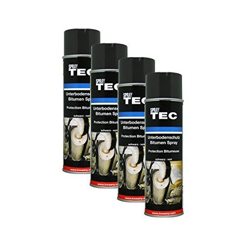 Kwasny 4X 235 500 Auto-K Spray TEC Unterbodenschutz Bitumen schwarz 500ml