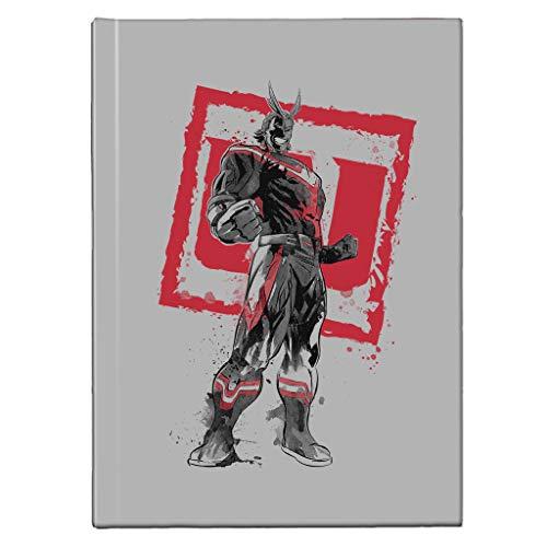 All Might Sumi E My Hero Academia Hardback Journal