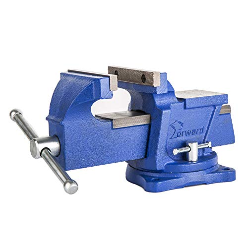 Forward 08 Series 4-Inch Bench Vise Light Duty with Swivel Base (4')