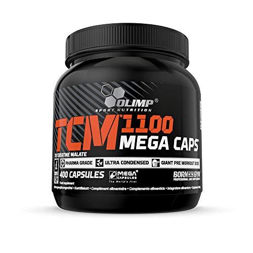 Olimp TCM 1100 Mega Caps, 400 Kapseln, Tri Creatine Malate, 100 Portionen